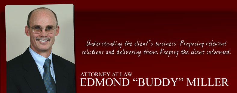 "Buddy ""Edmond"" Miller Attorney at Law Reno"